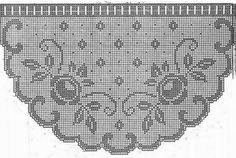 Nice scheme fewer and shorter curtains.   The scheme is designed so that it can be repeated motif.   By repeating motifs are increasing...