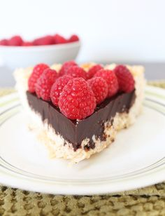 Chocolate Macaroon Pie - gluten and dairy free