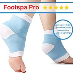 fc53a9c485 FootSpa Pro 5 Piece Plantar Fasciitis Kit, Gel Plantar Fasciitis Sleeve, Foot  Arch Support, Massage Ball