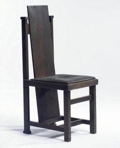 High Back Chair by Frank Lloyd Wright - Chair Blog