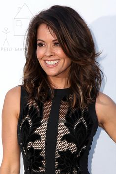 Brooke Burke-Charvet attends the Petit Maison Chic fashion show honoring Operation Smile on November 21, 2015 in Beverly Hills, California.