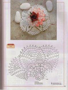 View album on Yandex. Crochet Doily Patterns, Crochet Chart, Crochet Doilies, Crochet Flowers, Flower Patterns, Pineapple Crochet, Crochet Tablecloth, Crochet For Kids, Soap Making