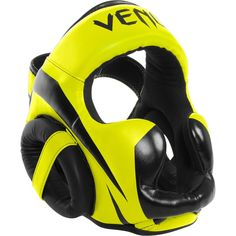 The Venum Elite Headgear was made in Thailand with Skintex leather and brings you the most perfect head gear protection at an affordable price. Venum Elite Semi Leather Boxing and MMA Protective Headgear. Mma Equipment, Training Equipment, Fight Wear, Small Backyard Design, Muay Thai Training, Combat Sport, Face Design, Boxing Gloves, Mixed Martial Arts