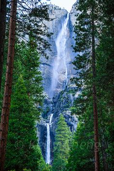 The crown jewel of Yosemite's waterfalls, Yosemite Falls is one of the tallest in North America and fifth highest in the world. Actually made up of three separate falls, it has a total drop of 2,425 feet. USA-120614-509 | Flickr - Photo Sharing!
