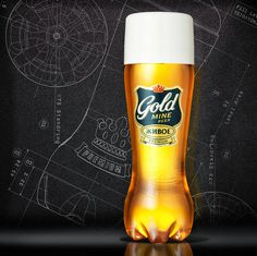 Gold mine Beer Zhivoe on Packaging of the World - Creative Package Design Gallery