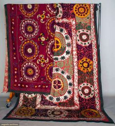 Augusta Auctions, April 17, 2013 - NYC: Two Suzanis, Uzbekistan, Mid 20th C