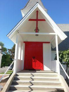 Red doors of mercy & grace