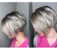 20 Sexy apiladas Cortes de pelo para el pelo corto // #apiladas #copiar #Cortes…