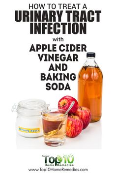 How to Treat A Urinary Tract Infection with Apple Cider Vinegar and Baking Soda