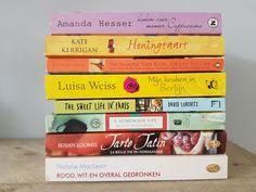 Om mee te nemen op vakantie: mijn 8 favoriete culinaire romans op een rijtje gezet. Plus 2 extra boeken die op mijn lijstje staan om mee te nemen.