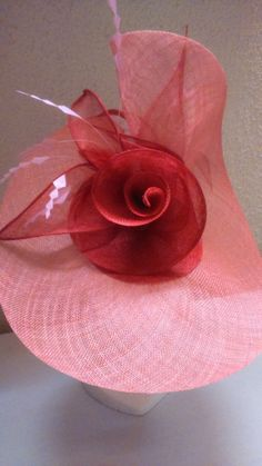 A Students Hat #millinery #workshops #sinamay #sculpting www.millineryworkshops.com