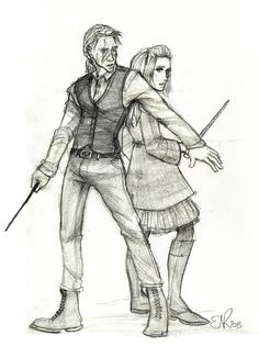 Bill and Fleur by Catching-Smoke on deviantART