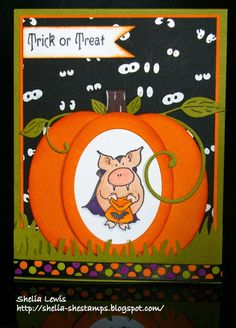 DRS Designs Rubber Stamps: Trick or Treat