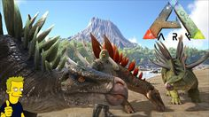 KENTROSAURUS KIBBLE TAME MOBILE SPIKE WALL ARK Survival Evolved