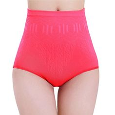 Bestpriceam Sexy Womens High Waist Tummy Control Body Shaper Briefs Slimming Pants M Hot Pink *** Continue to the product at the image link.