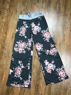 699c532ae French Terry Lounge Pants - Charcoal