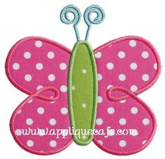 Butterfly 4 Applique Design
