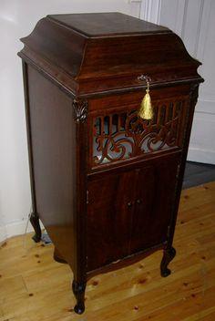 Antique 1919 Brunswick 117 Victrola Phonograph Record Player ...
