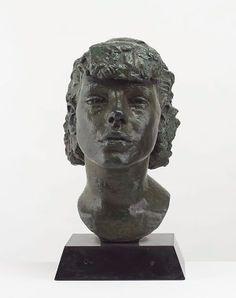 Portrait by Jacob Epstein Figurative, Masks, Statue, Contemporary, Portrait, Life, Headshot Photography, Sculpture, Portraits