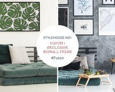 Tradisjonell Futon cm m/Økologisk bomullstrekk Contemporary, Home Decor, Homemade Home Decor, Decoration Home, Interior Decorating