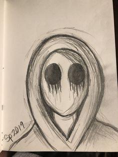 Creepy Drawings, Dark Art Drawings, Art Drawings Sketches Simple, Pencil Art Drawings, Cool Drawings, Sketch Art, Drawing Ideas, Meaningful Drawings, Arte Grunge