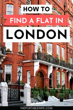 Moving to London soon? Beautiful London apartments are notoriously hard to find. But with these London flat hunting tips, you'll have no trouble renting in London! Kickstart your London life with a little help from these moving to the UK tips for expats and those new to living in London. | London expat blog | London lifestyle | How to move to London | Moving to England | London expat life | Moving abroad | Move to London from US | Moving to the UK | Life In London, Rent In London, Moving To England, Moving To The Uk, Study Abroad London, London Lifestyle, Beautiful London, Reisen In Europa, London Apartment