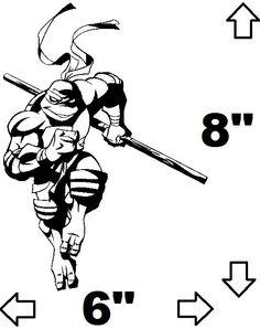 Donatello Teenage Mutant Ninja Turtles Inspired by VinylVanquish, $6.99