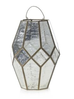 """13"""" Mercury Lantern for centerpieces. Use alone or bring in strands of twinkle lights for a little sparkle. ✨ Striped Curtains, Blackout Windows, Bold Stripes, Twinkle Lights, Window Panels, Wedding Season, Save Energy, Drapery, Mercury"""