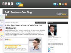 Verbesserter Cashflow - mehr Informationen: init Business One  BLOG  http://www.b1-blog.de/2013/01/22/sap-business-one-cashflow-im-mittelpunkt/