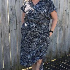 Gypsy Tunic Dress - Designer Stitch pdf pattern #afflink Designer Dresses, Gypsy, Sewing Patterns, Wrap Dress, Curvy, Short Sleeve Dresses, Tunic, Glamour, Stitch