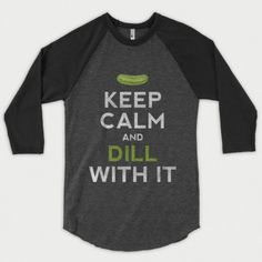 Get your Pickle on in our pickle themed shirts. Our designs are printed on soft t-shirts and baseball tees and feature funny pickle puns! Pickle Puns, Savannah Craft, Raglan Baseball Tee, Biker T Shirts, Heather Black, T Shirts With Sayings, Family Shirts, Cool Tees, Keep Calm