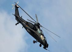 PLA Z-10 attack helicopter