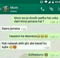 ✌hahhahahah mom se masti... Image by ❤Adidas queen❤ Pinterest  ❤Adidas queen❤