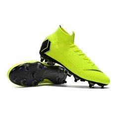 2f6ec7580 Nike Soccer Boots - Nike Mercurial Superfly VI Elite SG PRO AC Volt Black -  Cool Football Boots - Soft Ground - Mens Size 38