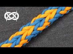 """How to make: """"JLove's Switchback Sanctified"""" Paracord Bracelet - YouTube"""