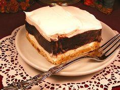 """Panamanian Dessert: """"Panama Canal Cake"""""""