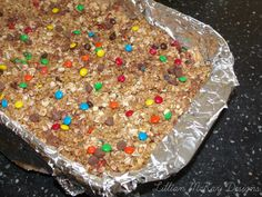 Monster Chewy granola bars