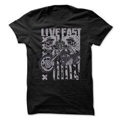 Live Fast - Riders/bikers Tshirt T-Shirt Hoodie Sweatshirts aii. Check price ==► http://graphictshirts.xyz/?p=107407