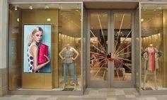 Pekason Ecran haute luminosité pour vitrine boutiques
