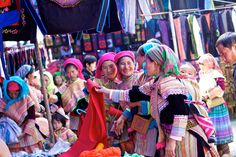Bac Ha Market - one of the most prominent rotating markets in Vietnam's most famous trekking hospot