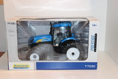 Ertl 1/16 Case New Holland T7030 Tractor NIB Prestige Collection H2F MFWD Rare #Ertl #NewHolland