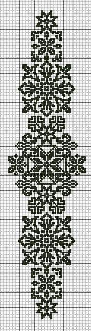 kogin sashi free pattern http: Cross Stitch Borders, Cross Stitch Designs, Cross Stitching, Cross Stitch Embroidery, Embroidery Patterns, Hand Embroidery, Cross Stitch Patterns, Filet Crochet, Crochet Motifs