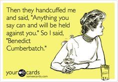 #BenedictCumbertbatch