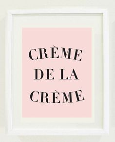 Crème de la Crème Art