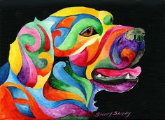 Golden Retreiver Painting by Sherry Shipley - Golden Retreiver Fine Art Prints and Posters for Sale