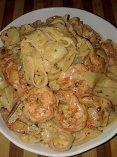 3 reviews · 40 minutes · Serves 4 · Creamy Shrimp Fettuccine Pasta With Homemade Alfredo Sauce Seafood Recipes, Cooking Recipes, Healthy Recipes, Cooking Games, Shrimp Dinner Recipes, Healthy Meals, Easy Recipes, Cooking Blogs, Microwave Recipes