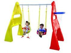 Playground - Multi Balanço - Xalingo com as melhores condições você encontra no Magazine Vrshop. Confira!