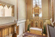 Die gotische Kapelle, die im 15. Jhdt. erbaut wurde, bietet einen intimen Rahmen für eine ganz stimmungsvolle und romantische kirchliche Trauung.