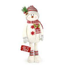 Woodland Wonder Snowman Décor at Big Lots. #BigLots