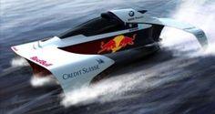 BMW, Formula-Foil 1, Dan Baretich, vehicle, future, futuristic, concept, water, f1, watercraft, speed, redbull, boat by FuturisticNews.com
